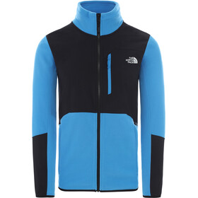The North Face Glacier Pro Veste zippée Homme, clear lake blue/tnf black